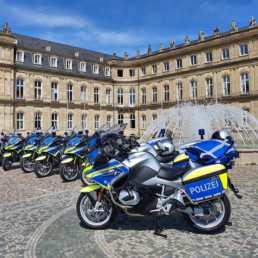 Portfolio Einsatztechnik und Motorräder der Polizei BW