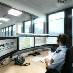 Portfolio Kommunikationstechnik und Leitstelle der Polizei BW in Freiburg